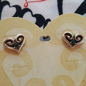 Brighton stud silver Earrings